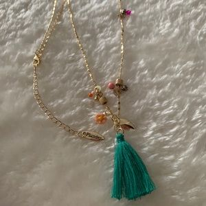 *2 for $15* Plunder Gold tone Necklace